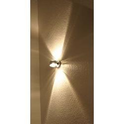 Top Light Puk Wall Outdoor Wandleuchte chrommatt Linse matt / Glas matt Top LightTop Light