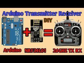 Wireless Remote Using 2 4ghz Nrf24l01 Module With Arduino Nrf24l01 4 Channel 6 Channel Transmitter Receiver For Quadcopter Rc Helicopter Rc Plane Using Arduino Arduino Remote Control Arduino Wireless