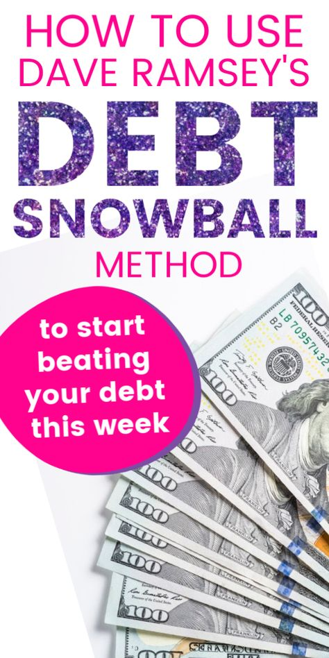 How to Stay Motivated to Pay off Debt With Dave Ramsey's Debt Snowball