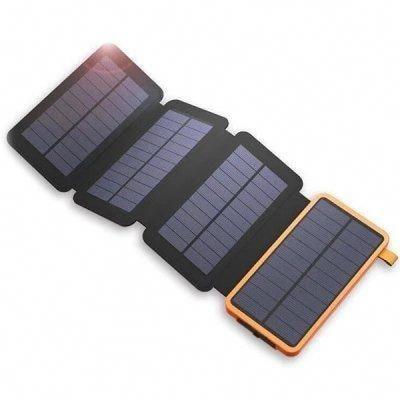 25000mah Solar Panel Power Bank Orange Power Banks Sale Price Reviews Solar Panel Charger Solar Charger Solar Panels