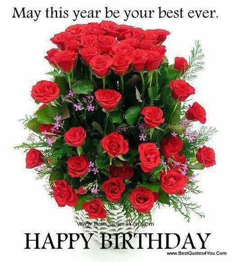 Mazzo Di Fiori Happy Birthday.Happy Birthday Immagini Immagini Di Fiori E Fiori