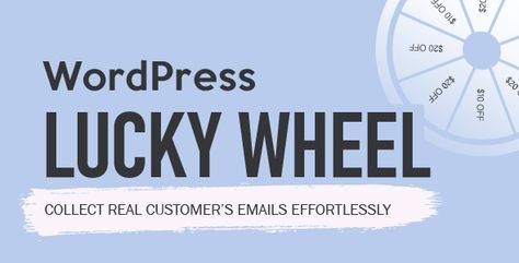 WordPress Lucky Wheel ⠀ WordPress Lucky Wheel gives you the best solution to get emails address from visitors of your WordPress website. WordPress Lucky Wheel offers visitors to fill in their email addresses to spins for ... ⠀ #codecanyon #coupons #ecommerce #exitintent #fortunewheel #mailchimp #mailster #miscellaneous #optinpopup #spin2win #villatheme #wheeloffortune #wheelioforwoocommerce #wheelioforwordpress #woocommercecoupons #woocommercefortunewheel #wordpress
