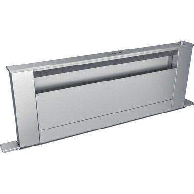 Bosch 37 800 Series 600 Cfm Convertible Down Draft Range Hood In Stainless Steel In Steel Stainl In 2021 Stainless Steel Cleaning Range Hood Stainless Steel Microwave