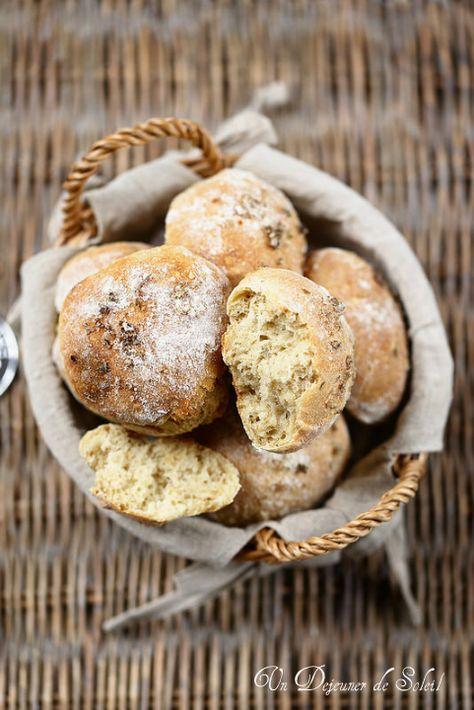 Un dejeuner de soleil: Petits pains faciles à l'épeautre