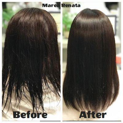 思わずニッコリ しっとりサラサラ マレーアレナータ縮毛矯正 美容