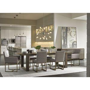 Universal Furniture Robards Quartz Rectangular Dining Table 643755