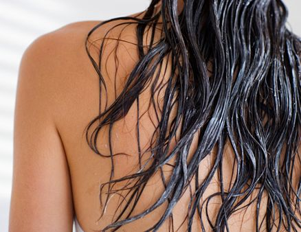 """""""Coconut milk helps the hair grow long and thick,"""" says Indian ayurvedic skincare expert Pratima Raichur. (The kind from a can is fine.) """"Rub it onto the scalp, leave it on for an hour or so, then wash it out."""""""