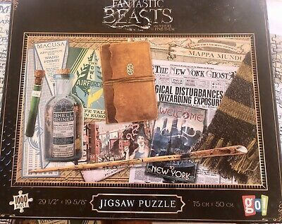 Harry Potter Jigsaw Puzzle Fantastic Beasts 1000 Pcs By Go Games Complete Ebay Jigsaw Puzzles Fantastic Beasts Jigsaw