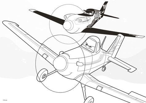 Ausmalbilder Planes Malen Ausmalbilder Planes