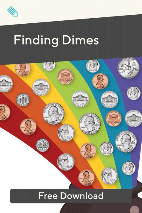 Finding Dimes Finding Dimes Counting Coins Math