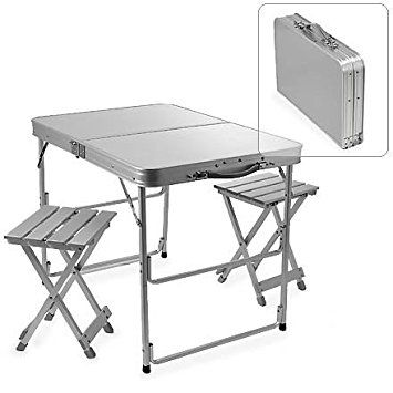 Benefits Of Folding Table And Chair Designalls Camping Table Camping Furniture Aluminum Table