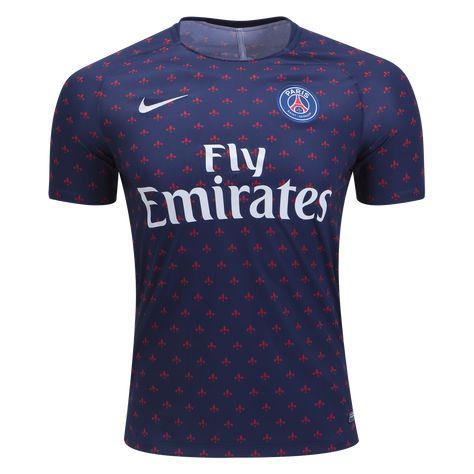 8ca25e268 Nike Paris Saint-Germain Pre Match Training Jersey 18 19-2xl ...