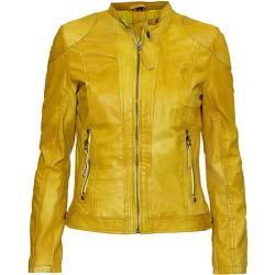 Gipsy: Damen Lederjacke Francy2 Lapa, gelb
