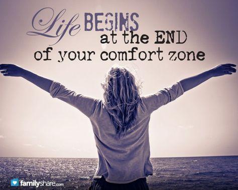 Afbeeldingsresultaat Voor Life Begins At The End Of Your Comfort