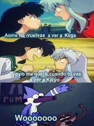 Inuyasha Memes Inuyasha Gracioso Meme De Anime Memes