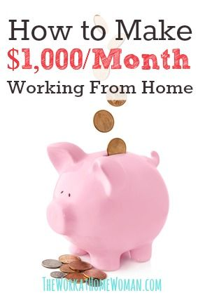 Need to make some money? Here are some REAL LIFE ideas, stories, and ways for you to get started bringing in the cash! via The Work at Home Woman