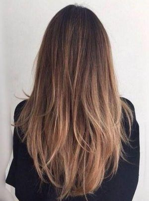 10 Best V Day Hairstyle Ideas From Pinterest Brown Straight Hair Straight Hair Highlights Balayage Straight Hair