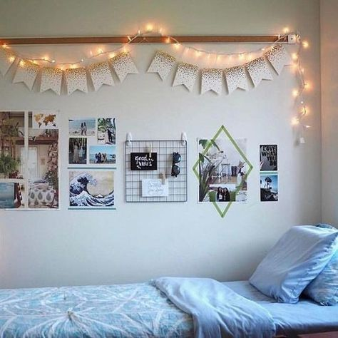 Lined Up - DIY Ideas That'll Make Your Dorm Room Feel Like Home - Photos