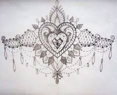 under boob sternum tattoo designs - Google Search