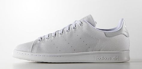Adidas Originals Stan Smith tissu weave gris #sneakers #stansmith #peah