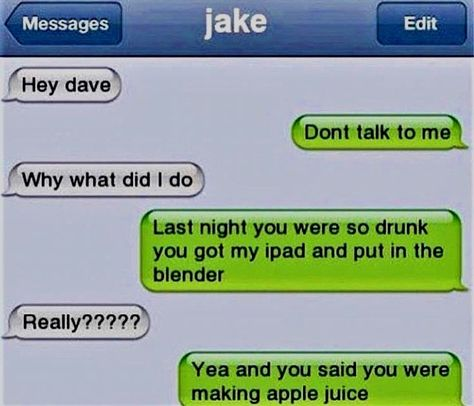 Check Out 40 Hilarious Text Messages That Will Make Your Day