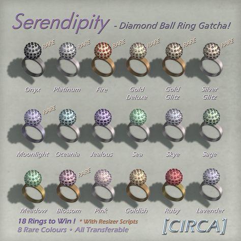 Serendipity - Diamond Ball Ring Gatcha | Flickr - Photo Sharing!