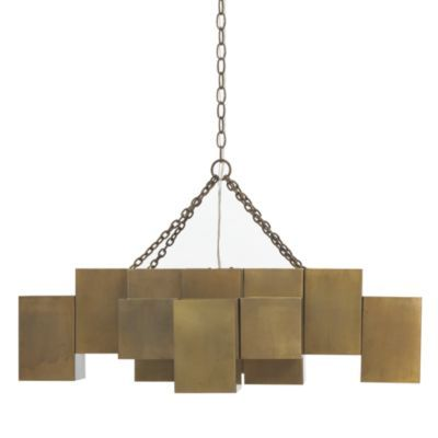 Mitc Gold Bob Williams Madrid Chandelier