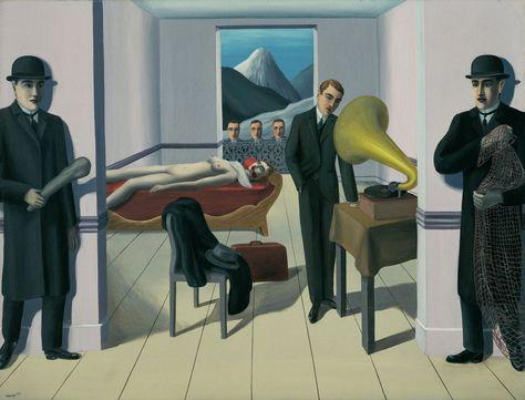menaced assassin, (1927)  Rene Magritte