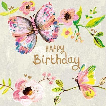 A Beautiful Female Birthday Card Happy Birthday Greetings Happy Birthday Cards Happy Birthday Woman