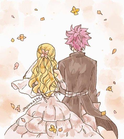 Nalu , Fairy Tail , Nastu Dragneel and Lucy Heartfilia