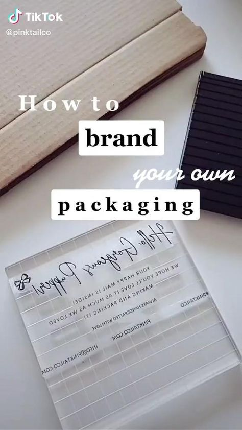 Packaging tips using stamps | Small Business Tips and Ideas