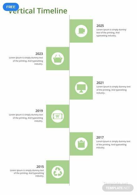 Free Vertical Timeline Timeline Templates Presentation