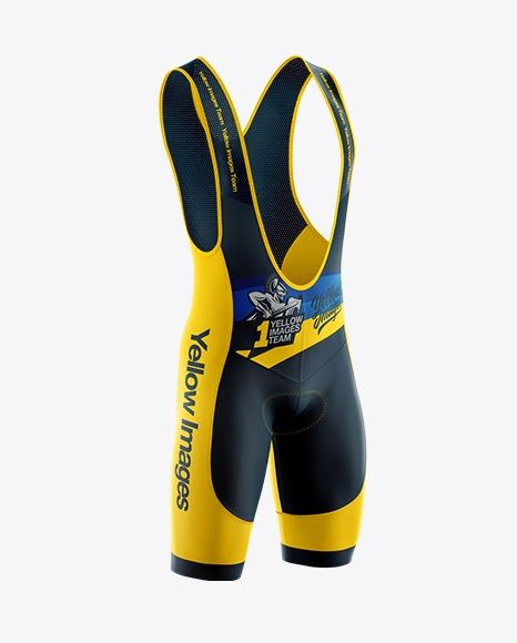 Download Download Psd Mockup Apparel Bib Bicycle Bike Chamois Clothing Cycling Garment Half Side View Lycra Male Men Cycling Bib Shorts Cycling Bibs Design Mockup Free