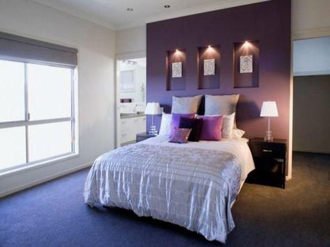 farbgestaltung fur schlafzimmer das geheimnisvolle lila | boodeco ...