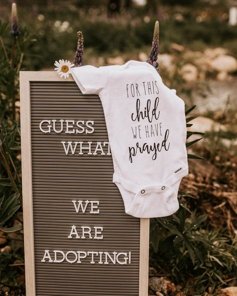Adoption announcement, adoption, announcements, onsie announcement, letter board announcement, Fostering, foster announcement Newborn Adoption, Adoption Baby Shower, Adoption Day, Adoption Maternity Photos, Adoption Gifts, Newborn Care, Foster Care Adoption, Foster To Adopt, Birth Announcement Girl