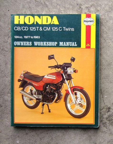honda cb125 owners workshop service repair manual cd125 cm125 benly rh pinterest com Honda 125 Motorcycle honda cm 125 workshop manual