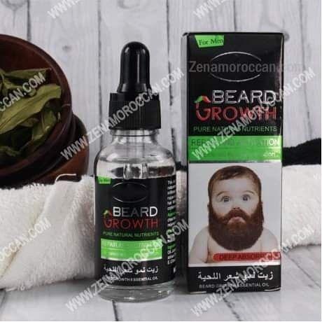 زيت الشعر اللحية Growth Oil Natural Beard Oil Beard Growth Oil
