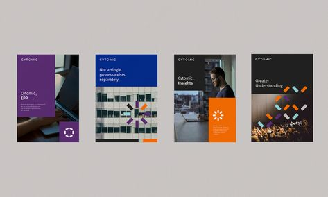 Cytomic Branding On Behance Branding Brand Guide Book Projects