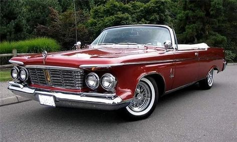 1960 Chrysler Imperial Crown Convertible Bilar