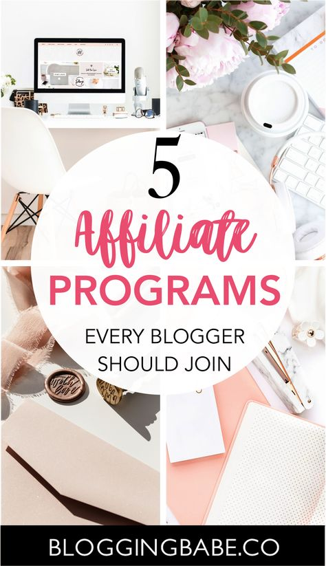 The Best Affiliate Programs To Make Money Blogging | The Boss Ladies Club