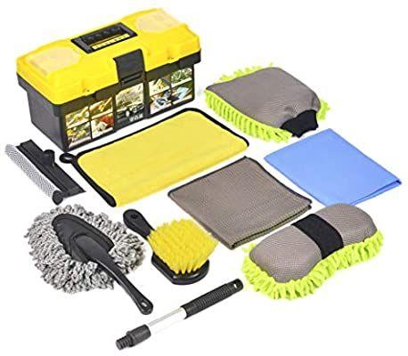 Car Wash Mitt for Car Washing Brush