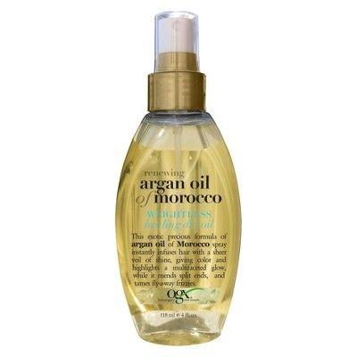 Ogx Moroccan Argan Oil Healing Oil Spray 4 Fl Oz Target With