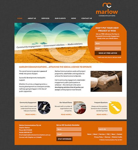 Marlow Communications Website Design Click To View Tourism Marketing Community Engagement Communications