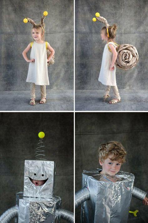 Halloween Kostüme Selber Machen Coole Kinder Verkleidungen