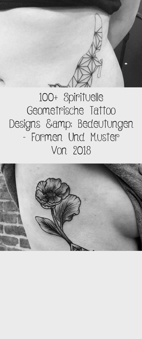 Photo of 100+ Spirituelle Geometrische Tattoo Designs & Bedeutungen – Formen Und Muster Von 2018 – Tattoos