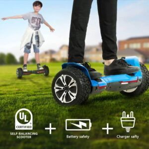 Can You Ride Hoverboard On Grass In 2020 Hoverboard Balancing Scooter Music Speakers
