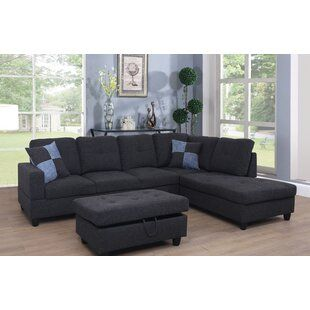 Furniture You Ll Love In 2020 Wayfair Sectional With Ottoman Sectional Sofa Sectional Sofa Couch