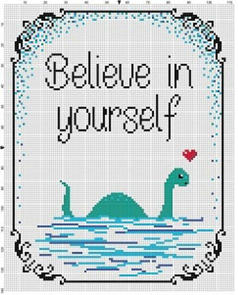Believe in yourself Funny Snarky Subversive Modern Cross Cross Stitch Patterns Free Easy, Geek Cross Stitch, Cross Stitch Quotes, Cross Stitch Freebies, Just Cross Stitch, Cross Stitch Borders, Cross Stitch Designs, Cross Stitching, Cross Stitch Alphabet Patterns