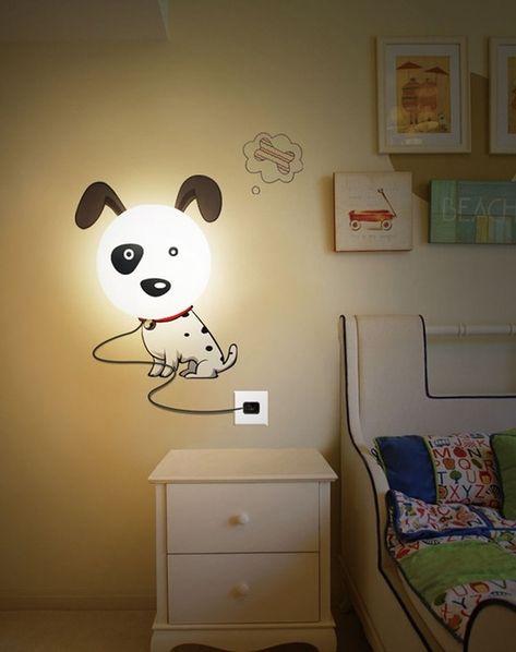 Hundelampe Wand Ideen Designer Lampen Kinderzimmer Deko