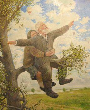 Просто быть...': художник Леонид Баранов | Художники, Картины, Старость